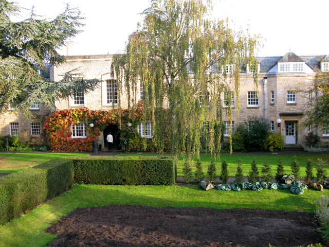 Mure Room and South Lodge, Merton College, Rose Lane