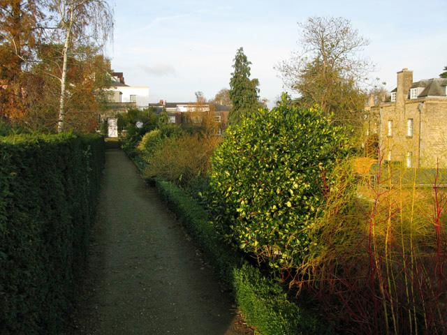 Path around Fellows' Garden, Merton College