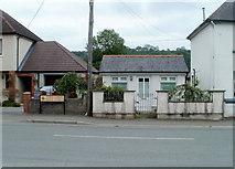 SN7634 : Garden Business, Llandovery  by Jaggery