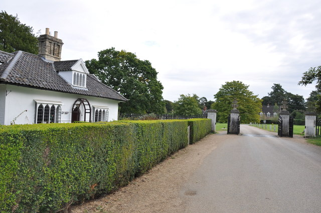 The Entrance and Lodge at Ickworth Park by Mick Malpass
