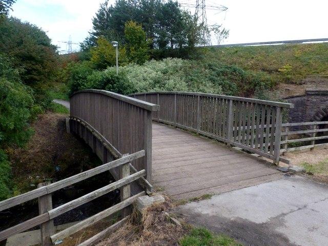 River Bollin footbridge