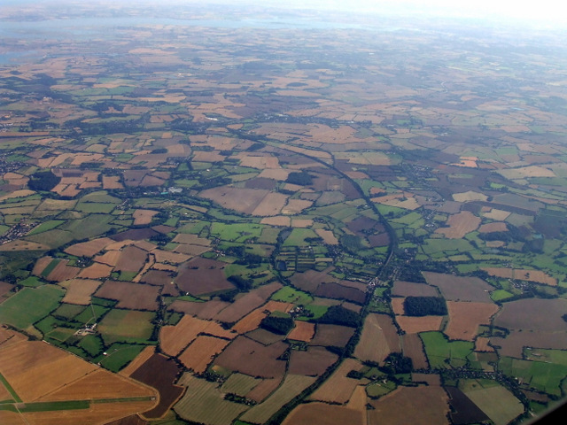 Essex from the air