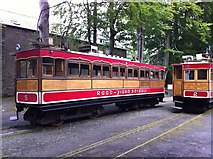 SC4384 : Trams 2 and 5 at Laxey by Andrew Abbott