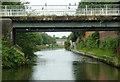 SP1084 : Grand Union Canal bridge near Tyseley, Birmingham by Roger  Kidd