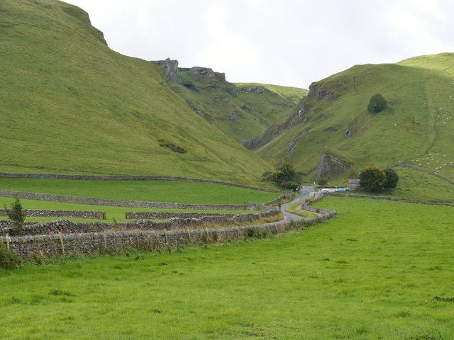 The road to Winnats Pass