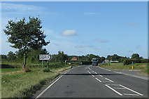 TG0337 : Right turn to Langham and Blakeney by Pauline E