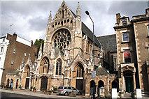 TQ2479 : Kensington:  St. John the Baptist Church, Holland Road by Dr Neil Clifton