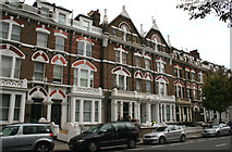 TQ2479 : Kensington:  68 and 66, Holland Road by Dr Neil Clifton