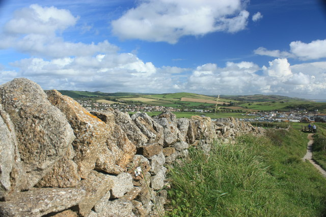 Dry Stone Wall, West Bay