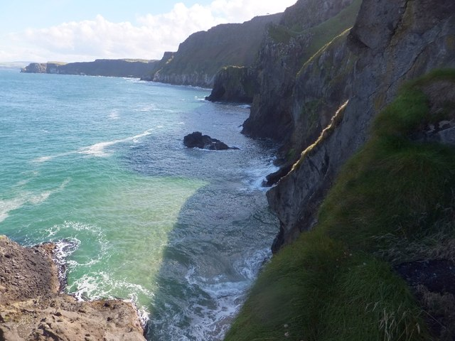 Cliffs to the east of Carrick-a-Rede