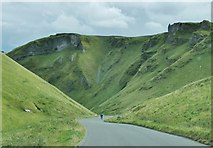 SK1382 : Winnats Pass, near Castleton, Derbyshire by Derek Voller