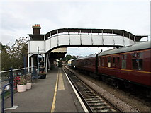 TL8928 : Chappel and Wakes Colne Station by PAUL FARMER