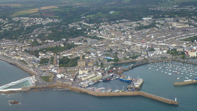 Penzance from the air 2