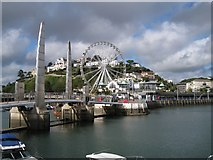 SX9163 : View from the South Pier, Torquay Old Harbour by Richard Dorrell