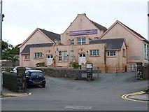 SM9537 : Fishguard Council School Centenary by Oliver Dixon