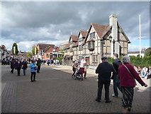 SP2055 : On Henley Street in Stratford-upon-Avon by Jeremy Bolwell
