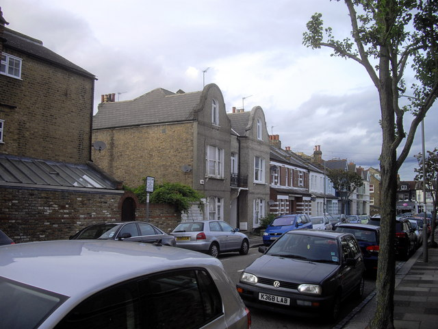 Houses in Roskell Road, Putney