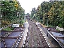 SD8203 : Heaton Park metrolink station by Raymond Knapman