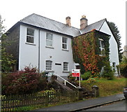 SN8746 : The Old Court House, Llanwrtyd Wells by Jaggery