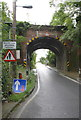 ST6834 : Railway bridge over the B3081 by Roger Templeman