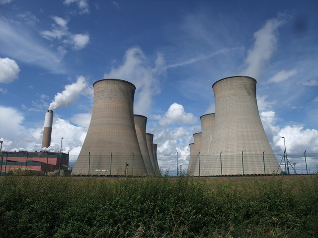 Cottam Power station from Torksey Ferry Road