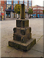 SJ9173 : The Market Cross, Macclesfield Market Place by David Dixon