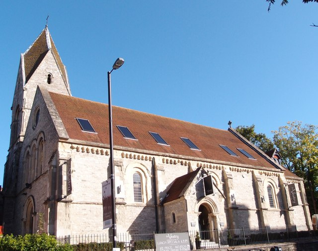 Former Church of St Peter, Southampton