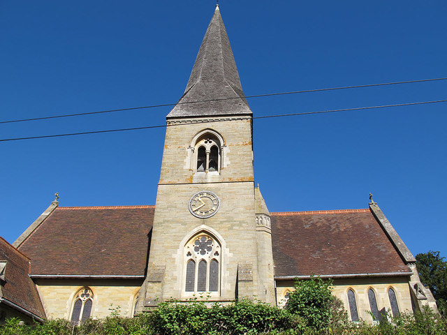 Church of St James, spire