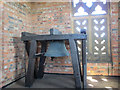 TQ3951 : St John's church bell by Stephen Craven