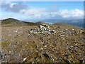 NN6949 : Meall na Aighean - the West Top by Richard Law