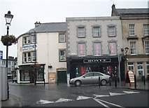 H6733 : Stores in The Diamond, Monaghan by Eric Jones