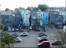 SM9515 : Rear of High Street, Haverfordwest by Dylan Moore