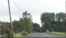 H1860 : Minor road junction on B82 at Glenkeen by Eric Jones