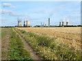 SU4992 : Footpath, Milton by Des Blenkinsopp