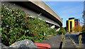 J3474 : Disused car park, Belfast (3) by Albert Bridge