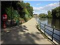 SJ4912 : Footpath alongside the River Severn by John S Turner