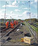 TA0623 : Track Renewal near Barrow Haven Station by David Wright