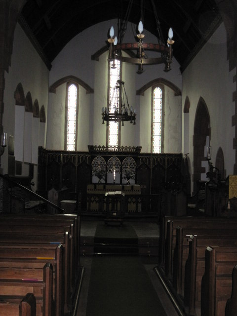 St  Peter's.  Martindale  ( interior )