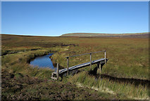 NY8221 : Footbridge over Connypot Beck by Trevor Littlewood