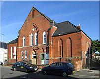 SK3670 : Brampton - former chapel on New Hall Road by Dave Bevis