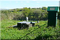 SX6457 : Water monitoring station at Lukesland by Graham Horn