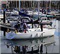 J5082 : Yacht 'Twister' at Bangor by Rossographer