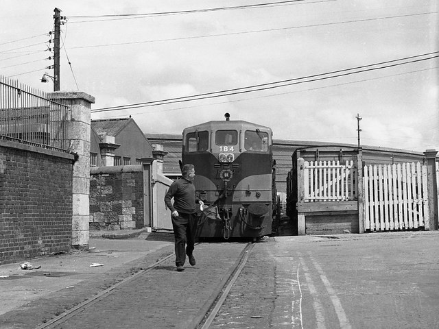 Cork City railway 1975 - 1