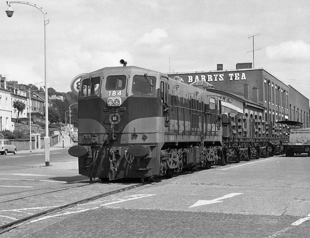 Cork City railway 1975 - 2