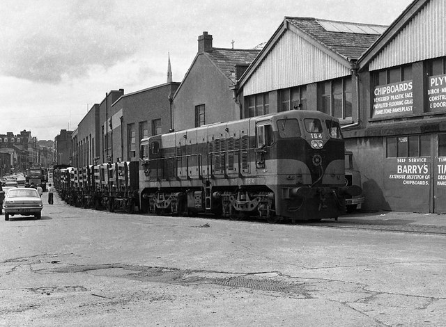 Cork City railway 1975 - 13