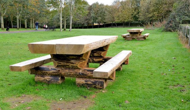 Picnic tables, Belfast