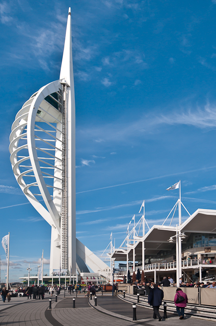 Spinnaker Tower and The Waterfront
