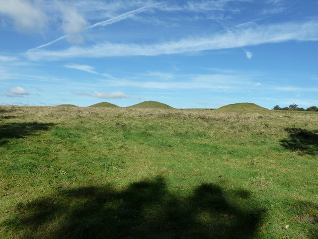 Bronze Age Barrows known as the Devil's Jumps
