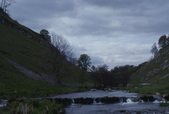 Wolfscote Dale and the River Dove