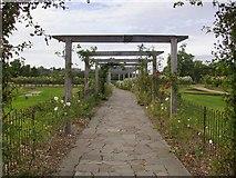 TQ2472 : By the miniature golf course, Wimbledon Park by Stefan Czapski